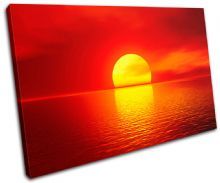 Stunning Sunset Seascape - 13-1036(00B)-SG32-LO